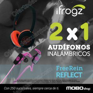 Mobo: 2×1 en audífonos inalámbricos ifrogz al 15 de Diciembre