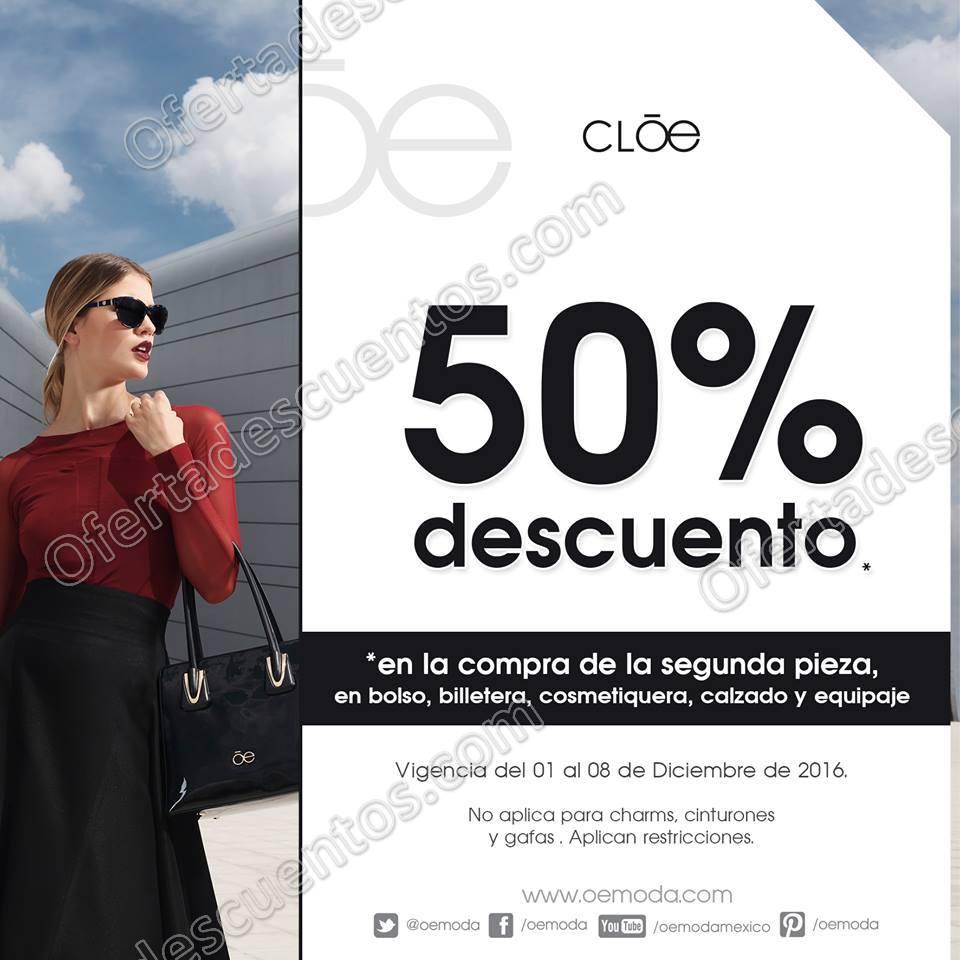 Cloe: 2×1 y medio en bolsos, billeteras, cosmetiqueras y más hasta el 8 de Diciembre