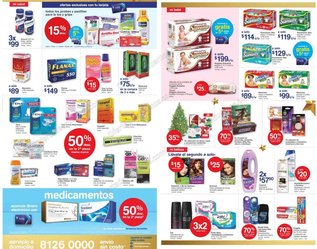 Farmacias Benavides: Promociones de Fin de Semana del 9 al 11 de Diciembre