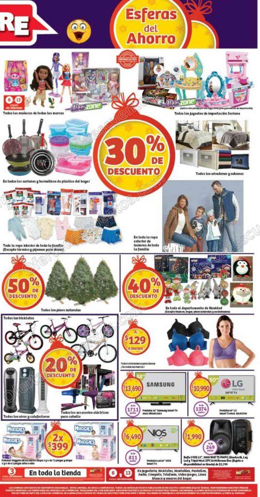 Promociones de Fin de Semana en Soriana del 9 al 12 de Diciembre