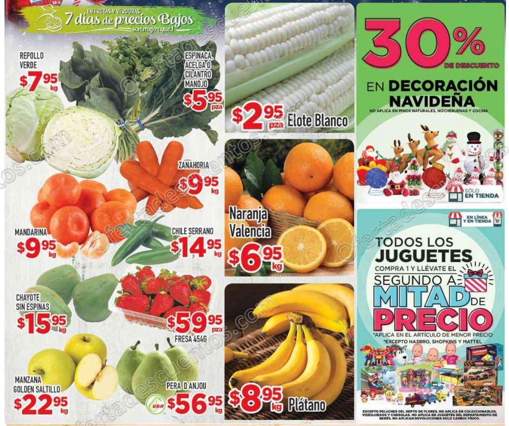 HEB: Tres Días de Frescura en Frutas y Verduras del 13 al 15 de Diciembre