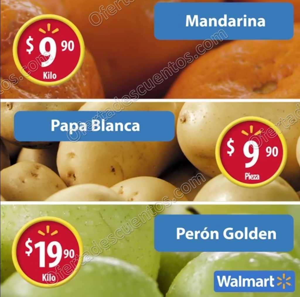 Frutas y Verduras Martes de Frescura Walmart 27 de Diciembre 2016