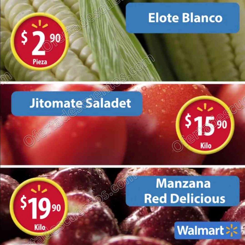 Frutas y Verduras Martes de Frescura Walmart 13 de Diciembre 2016
