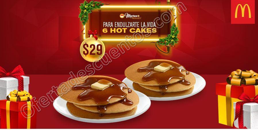 McDonald's: Cupón del Martes 27 de Diciembre 6 Hot Cakes por $29