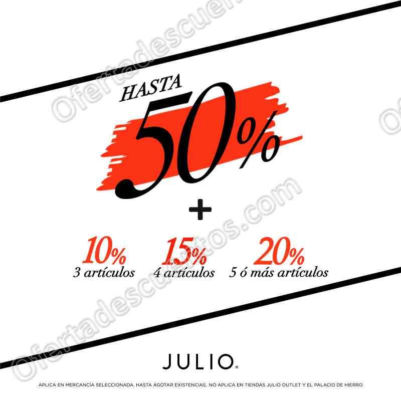 Julio: Rebajas de Fin de Temporada hasta 50% de descuento más hasta 20% adicional