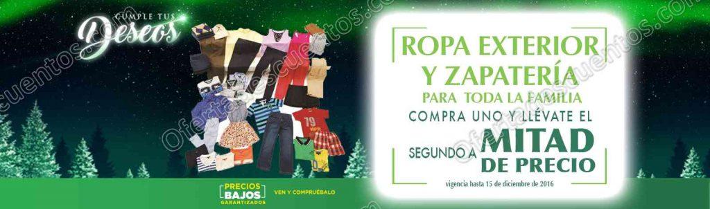 Comercial Mexicana: 2×1 y medio en ropa exterior y zapatería al 15 de Diciembre