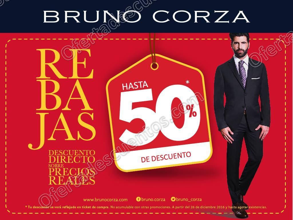 Bruno Corza: Rebajas de Hasta 50% de Descuento Directo