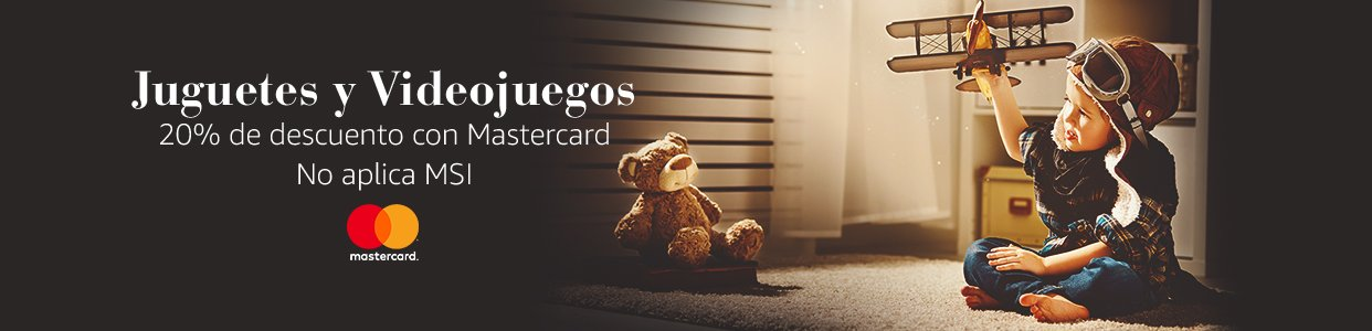 Amazon: 20% de Descuento en Videojuegos y Juguetes con Mastercard