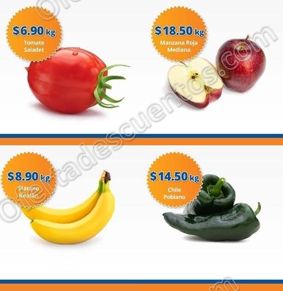 Frutas y Verduras Chedraui 31 de Enero y 1 de Febrero 2017
