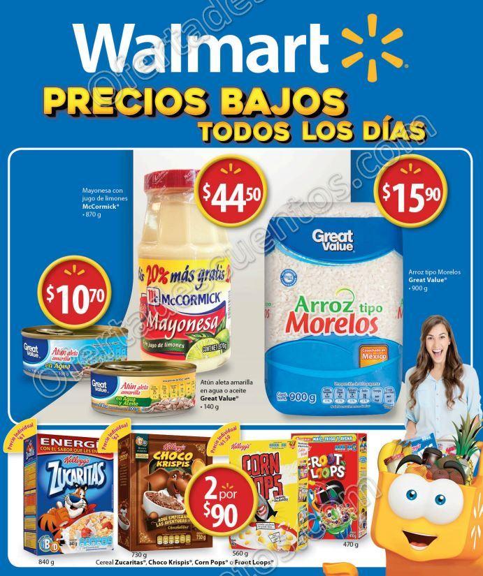 Walmart: Folleto de Promociones del 18 al 31 de Enero 2017