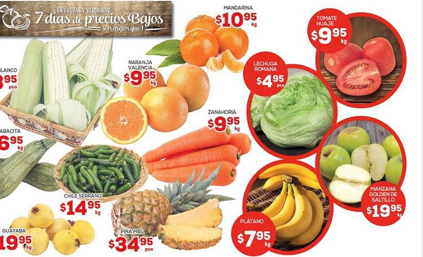 HEB: Ofertas en Frutas y Verduras del 10 al 12 de Enero 2017