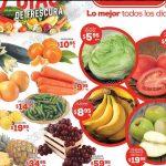 Frutas y verduras en HEB del 17 al 19 de enero OFFDE