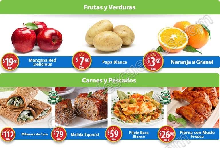 Frutas y Verduras Martes de Frescura Walmart 10 de Enero 2017