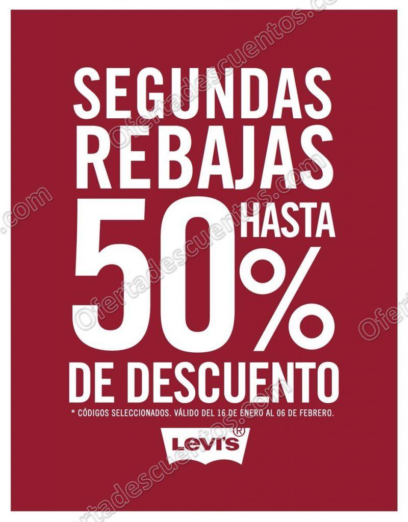 Levi's: Segundas Rebajas con hasta 50% de descuento en códigos seleccionados