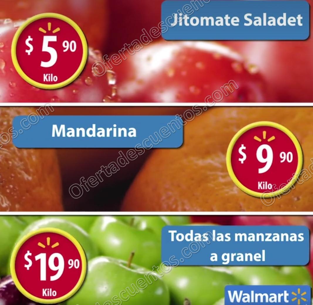 Frutas y Verduras Martes de Frescura Walmart 31 de Enero