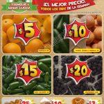 Ofertas frutas y verdyras Tianguis de mama lucha del 20 al 26 de enero OFFDE