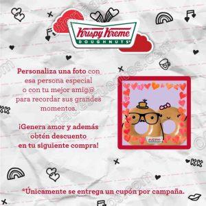 Krispy Kreme: Promoción Buenos Momentos sube una foto, personaliza, comparte y gana descuento