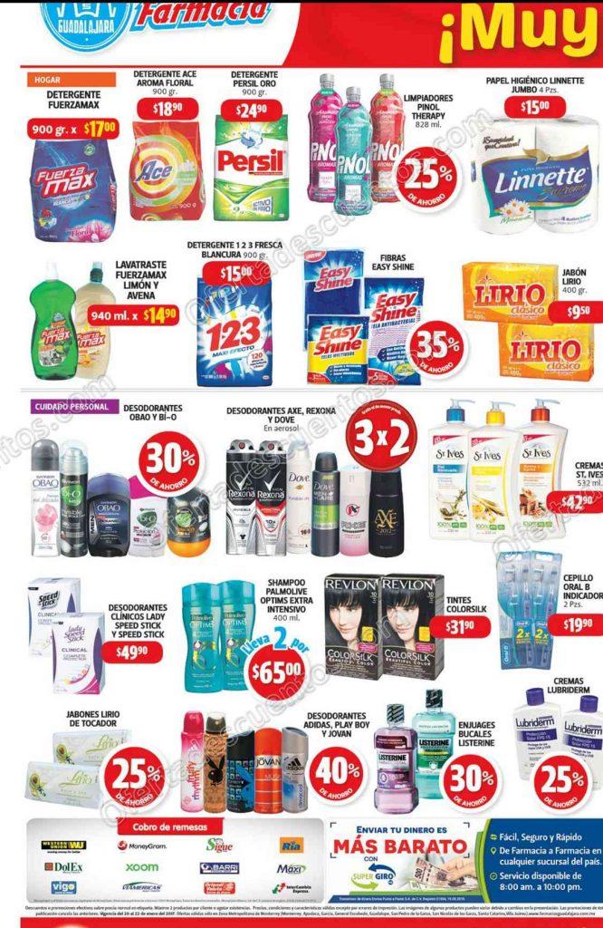 Farmacias Guadalajara: Promociones de Fin de Semana del 20 al 22 de Enero