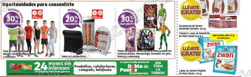 Soriana: Promociones de Fin de Semana del 20 al 23 de Enero