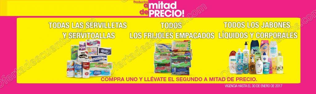 La Comer: Promociones fin de semana 2×1 y medio en frijoles, servilletas y más del 27 al 30 de enero