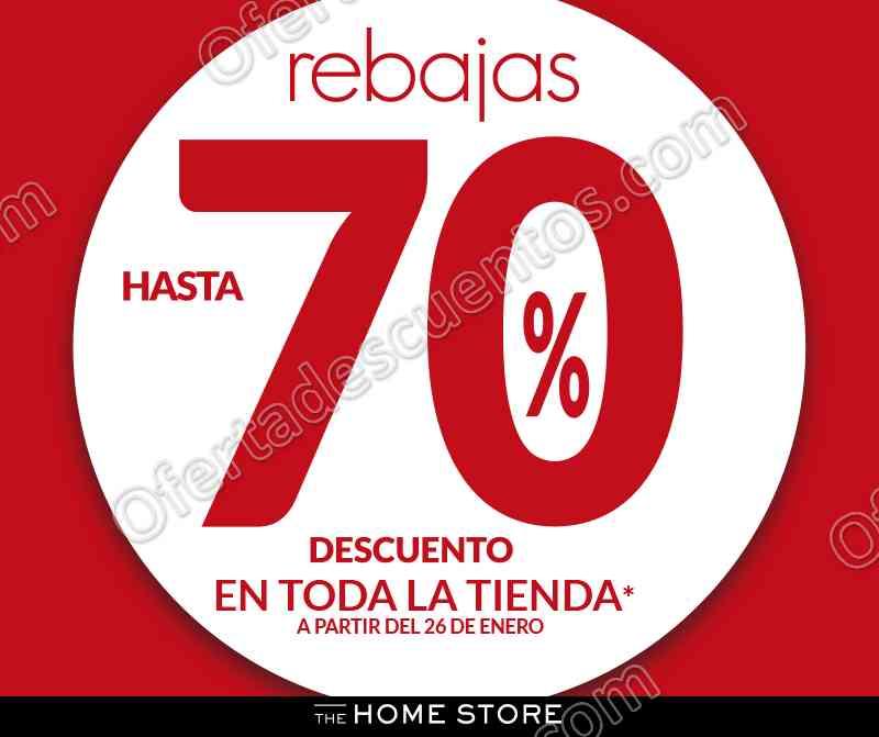 The Home Store: Rebajas con hasta 70% de descuento en toda la tienda