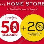 Rebajas de temporada en the home store OFFDE
