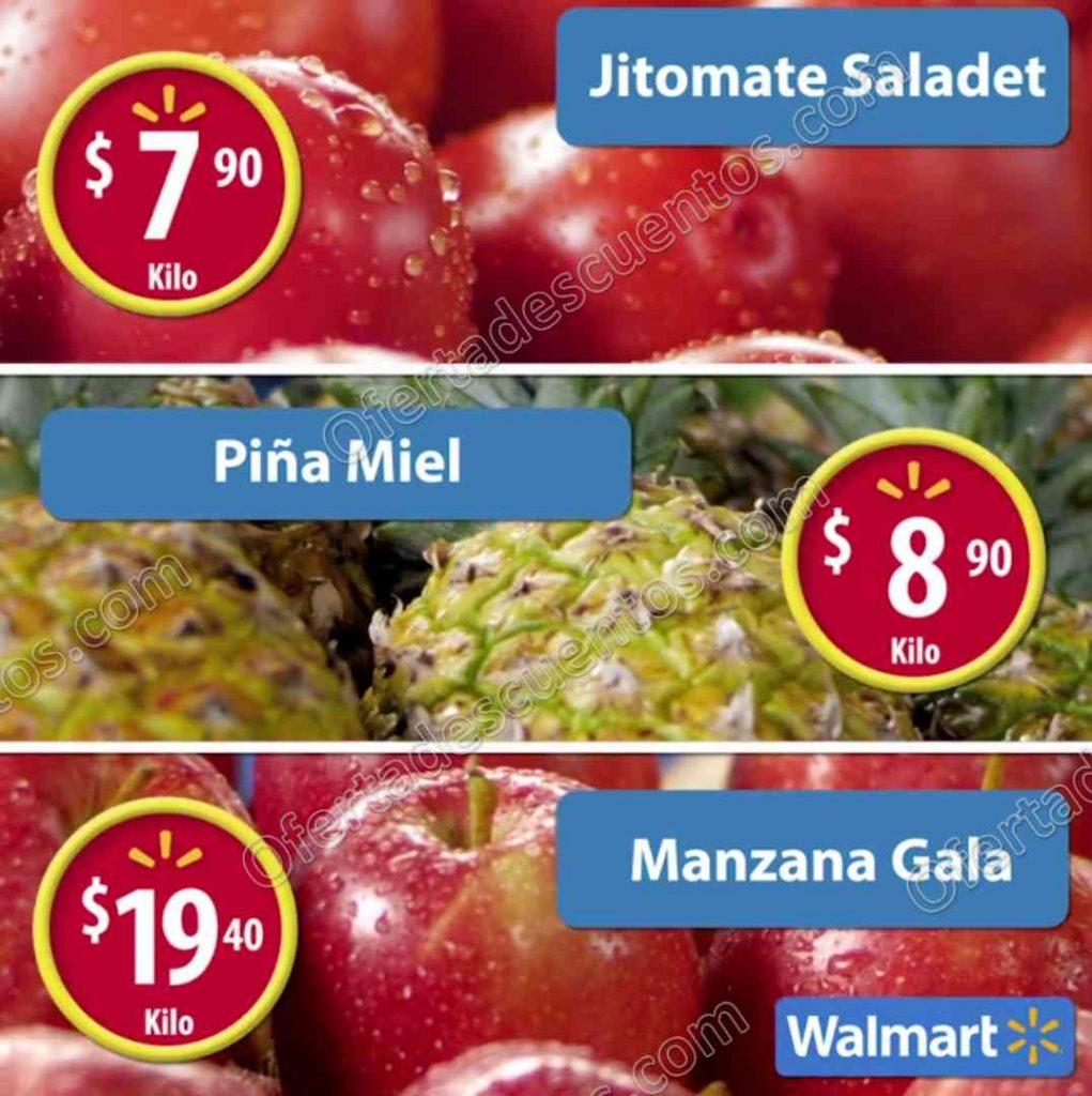 Frutas y Verduras Martes de Frescura Walmart 17 de Enero 2017