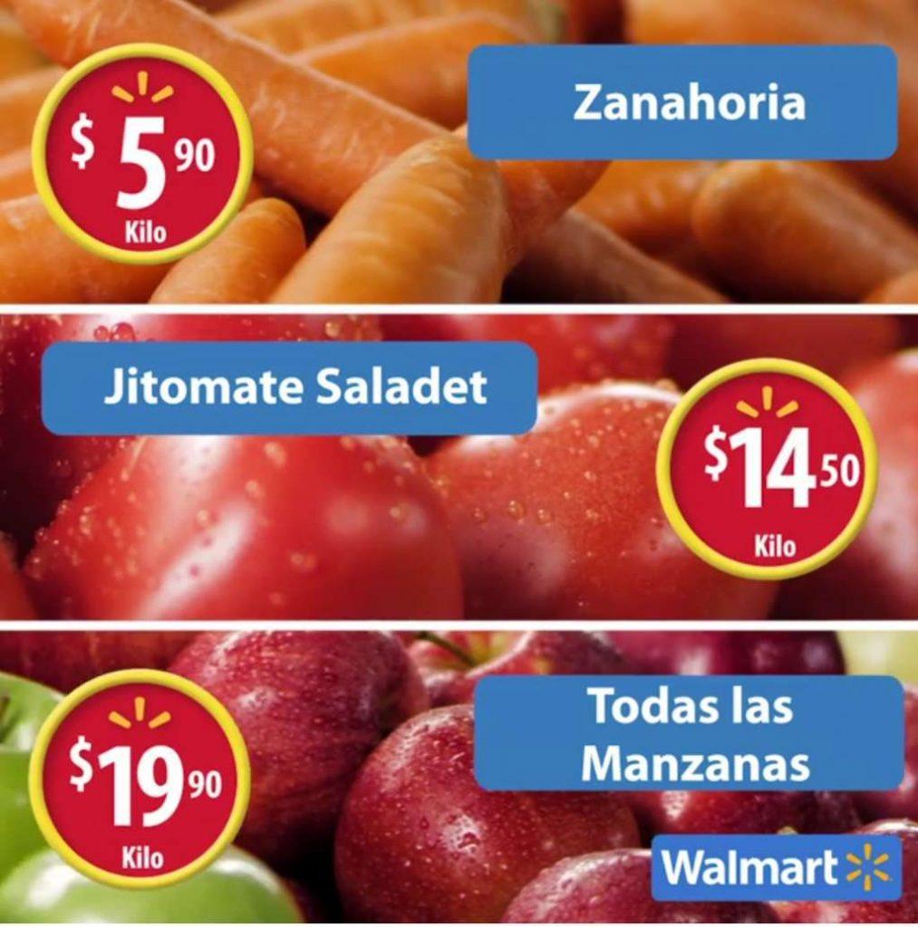 Frutas y Verduras del Martes de Frescura Walmart 3 de Enero 2017