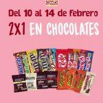 2x1 chocolates oxx 2017