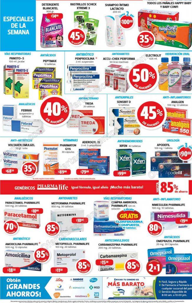 Farmacias Guadalajara: Especial de la Semana del 7 al 9 de Febrero