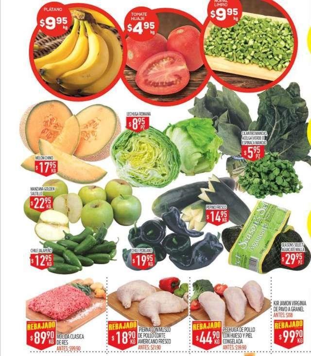 HEB: Tres Días de Frutas y Verduras 28 de Febrero al 2 de Marzo