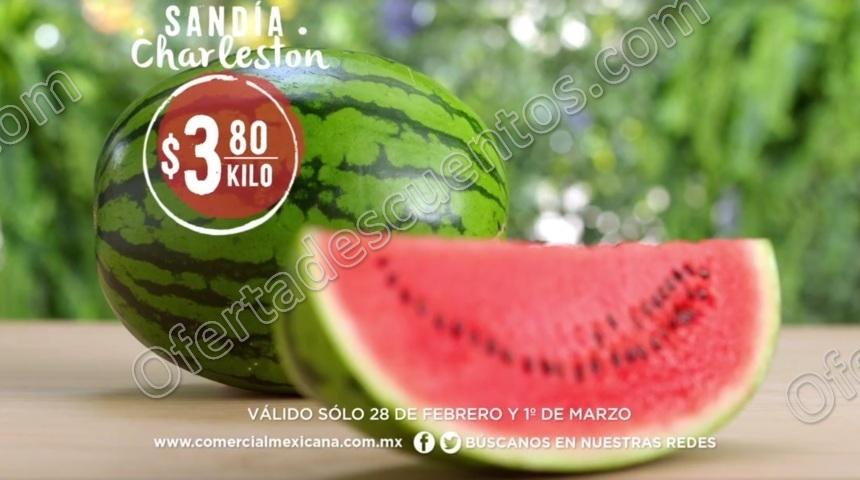 Comercial Mexicana: Frutas y Verduras del Campo 28 de Febrero y 1 de Marzo