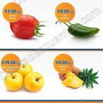 Frutas y verduras chedraui 21 y 22 de febrero OFFDE