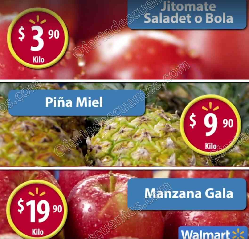 Frutas y Verduras Martes de Frescura Walmart 7 de Febrero