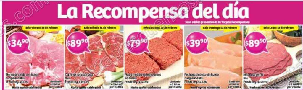 Soriana: Promociones Tarjeta Recompensa del 10 al 13 de Febrero