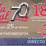Venta especial aniversario sears 22 al 25 de febrero OFFDE