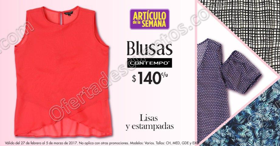 Suburbia: Arítculo de la Semana Blusas Contempo del 27 de Febrero al 5 de Marzo