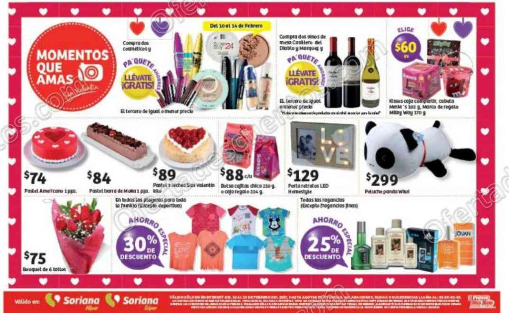 Promociones de Fin de Semana Soriana del 10 al 13 de Febrero