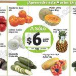 frutas y verduras Soriana 14 y 15 Febrero OFFDE