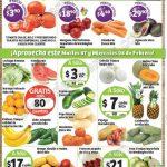 frutas y verduras Soriana 7 febrero OFFDE