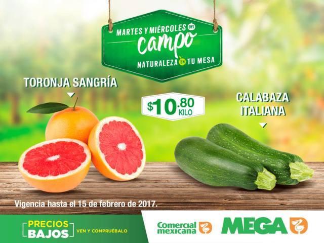Comercial Mexicana: Frutas y Verduras del Campo del 14 y 15 de Febrero