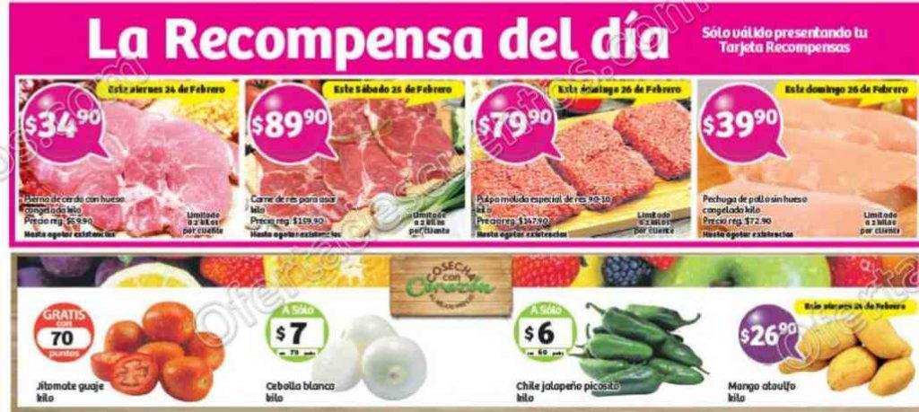 Soriana: Promociones Tarjeta Recompensa del 24 al 26 de Febrero
