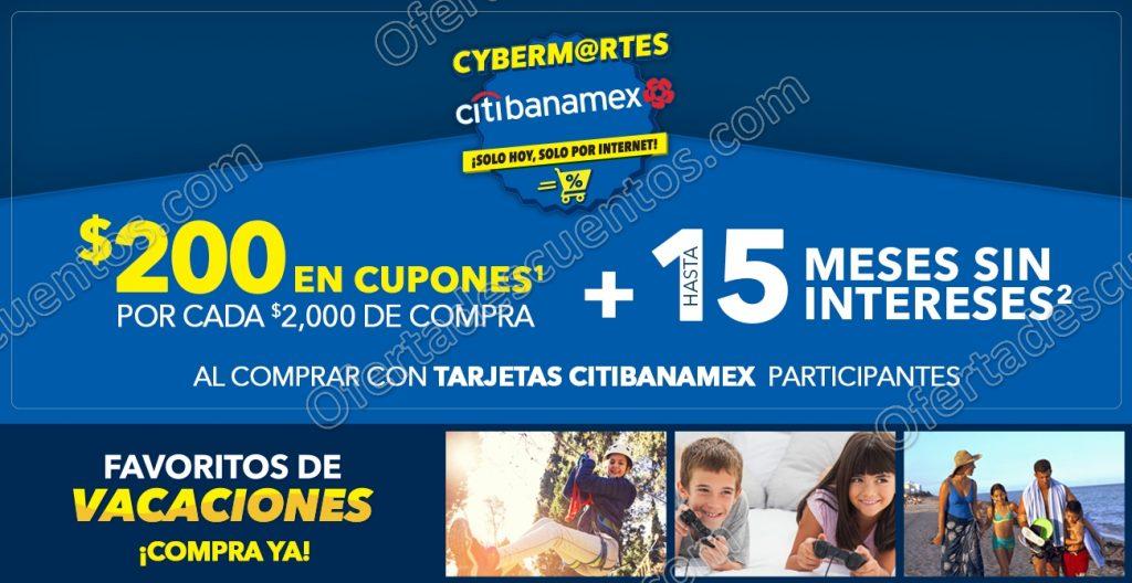 Best Buy: Cyber Martes con Citibanamex $200 en cupones por cada $2,000 de compra más meses sin intereses