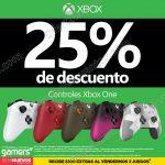 Descuento en controles para Xbox One en Gamers OFFDE