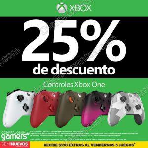 Gamers: 25% de descuento en controles para Xbox One al 31 de Marzo 2017