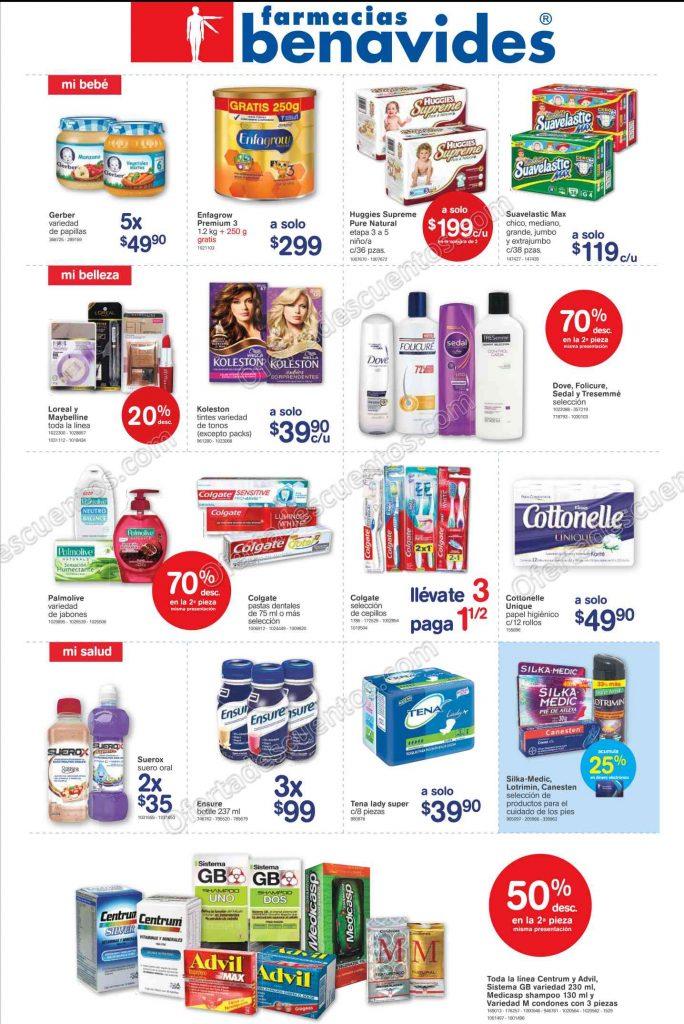 Promociones de Fin de Semana en Farmacias Benavides del 17 al 20 de Marzo