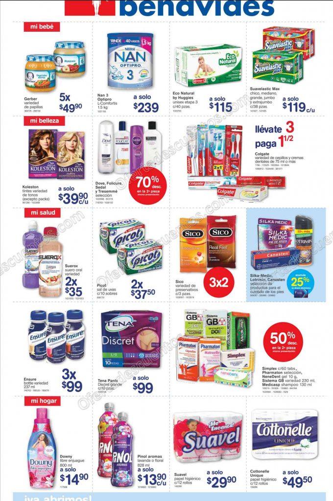 Farmacias Benavides: Promociones de Fin de Semana del 24 al 27 de Marzo