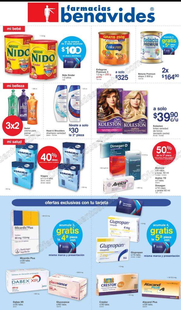 Farmacias Benavides: Promociones de Fin de Semana del 10 al 13 de Marzo