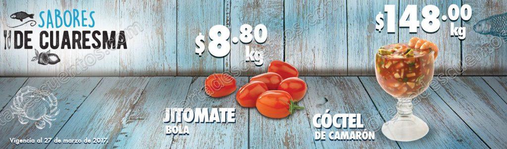 Comercial Mexicana: Ofertas de Cuaresma del 24 al 27 de Marzo