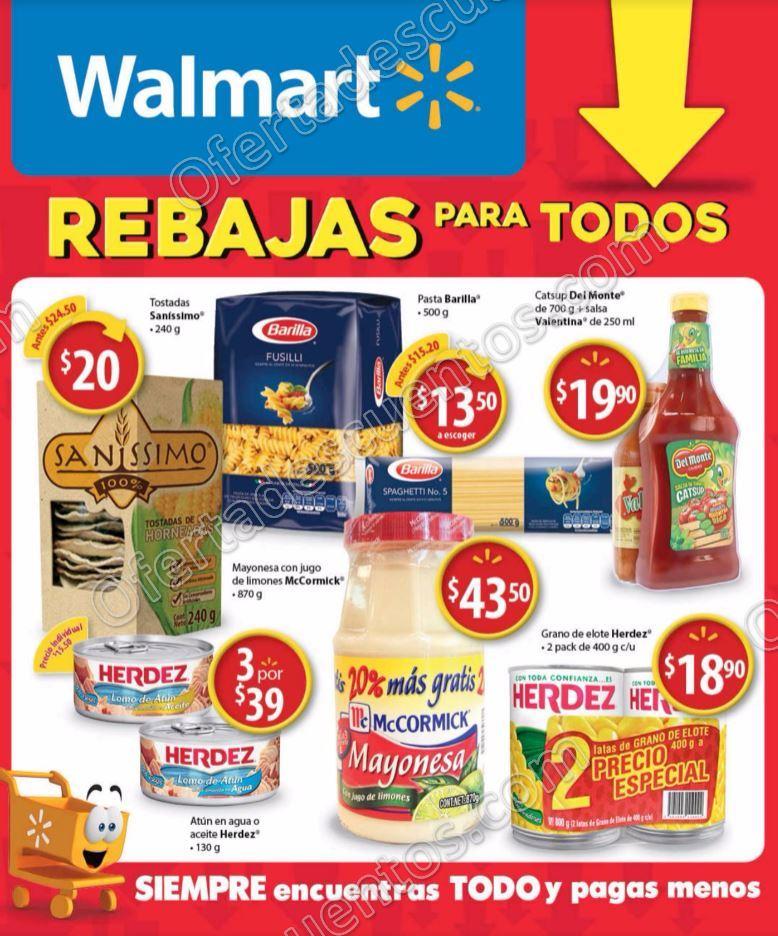 Walmart: Folleto de Promociones del 1 al 14 de Marzo 2017